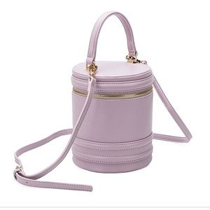 • Melie Bianca • Ellis blush vegan leather bag NWT